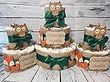 Adventure Time Woodland Theme Diaper Cake 3...