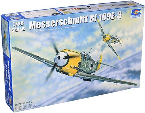Trumpeter 1/32 Messerschmitt Bf109E3 German Fighter Model Kit [Toy] (Japan Import)