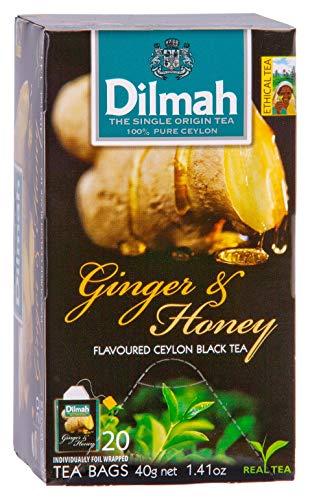 Dilmah Gember (Ginger Honey), 20 Stuk, 20 Units