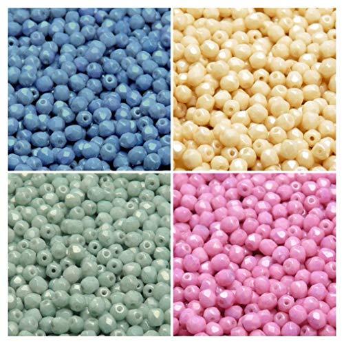10 pièces à facettes ronds Beads irrisierend Coloré Perle 8 mm entre perle