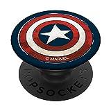 Marvel Captain America Shield Icon PopSockets Agarre y Soporte para Teléfonos y Tabletas