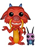 Funko - POP Disney - Mulan - Mushu & Cricket