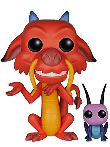 Funko - Pop! Vinilo Coleccion Disney - Figura Mushu & CRI-Kee (5898)