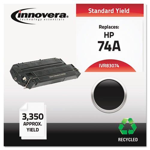 INNOVERA 83074 Remanufactured Toner Cartridge for HP Laserjet, Black