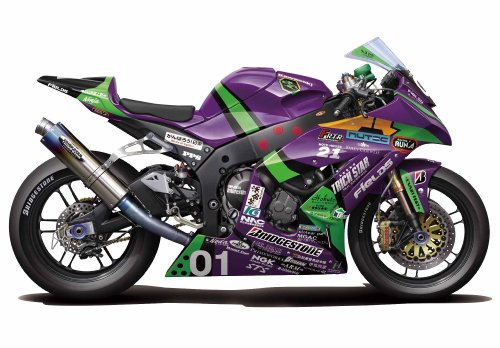 Eva-01 RT TRICK*STAR FRTR Kawasaki ZX-10R 2011 (Model Car)