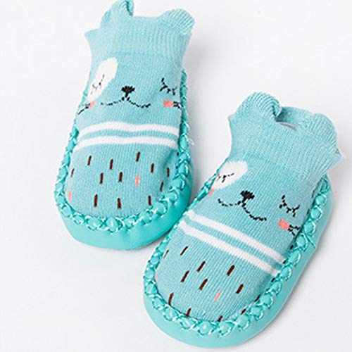 DBSUFV Leuke Cartoon Babysokken Ademende Zachte Katoenen Sokken Schoenen Antislip Vloersokken voor Peuters Meisjes Jongens Sokken Laarzen