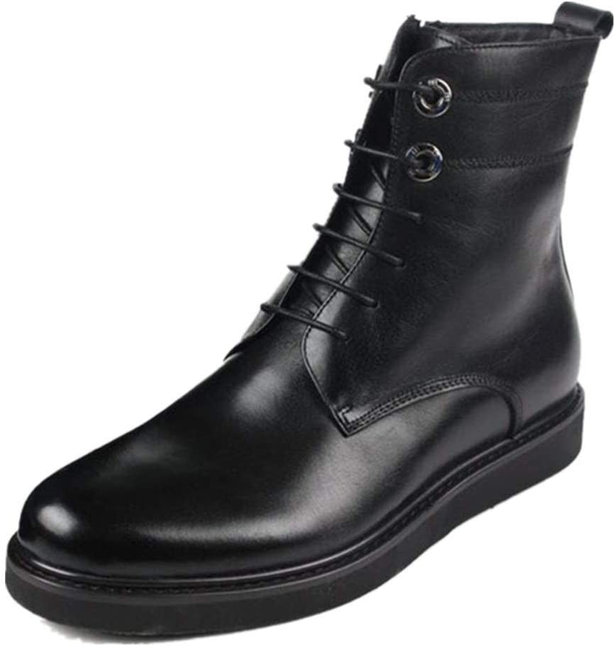 Rui San Francisco Mall Landed Chelsea Boot for Men Up Lace Prem High Style Top Ranking TOP5
