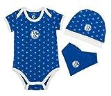 FC Schalke 04 Baby Set königsblau, Größe:62/68