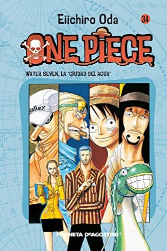 """One Piece nº 34: Water Seven, """"la Ciudad del Agua"""""""