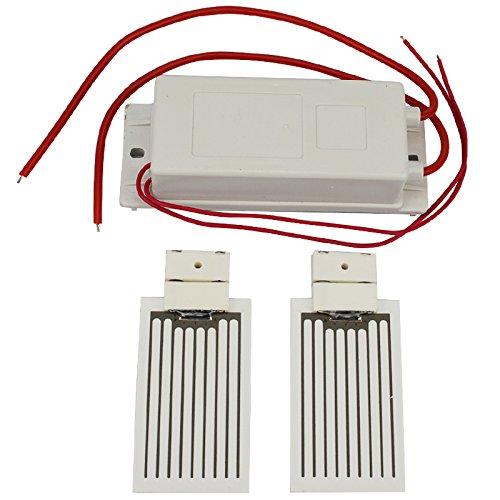 ATWFS Ozone Generator 12V +2 pcsX3.5g Ceramic Plate (Ozone Generator Accessory) Ozonator (12V)