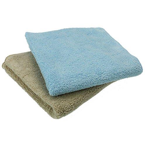 Sanixa K&G GP02710 Set hoogwaardige microvezel stofdoeken. Reinigingsdoek voor gevoelige oppervlakken | streepvrije reiniging | wasbaar | poetsdoek