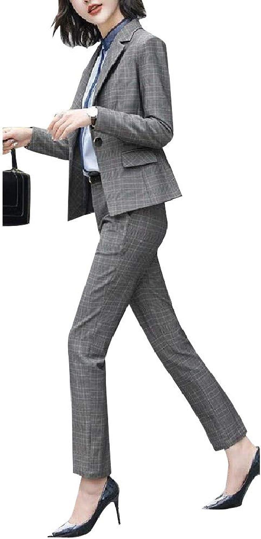 Cobama Women Elegent Oversized Formal OL Office Fashional Blazer Jackets