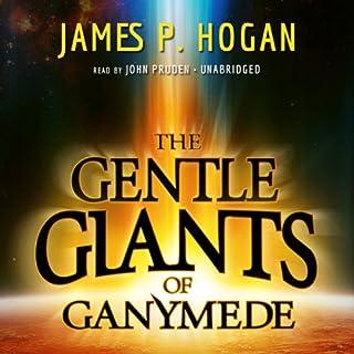 The Gentle Giants of Ganymede audiobook cover art