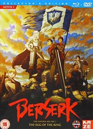 Berserk-Film 1 Egg of The King [Edizione: Regno Unito] [Blu-Ray] [Import]