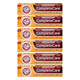 Arm & Hammer Complete Care Stain Defense Fluoride Anticavity Toothpaste, 6 oz (Pack of 6) (Packaging May Vary)