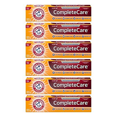 Arm & Hammer ARM & HAMMER Complete Care Fluoride Anticavity Zahnpasta, Fresh Mint 6 oz (6er-Pack)