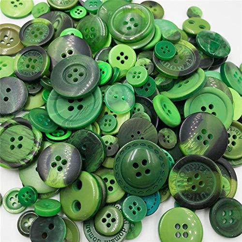 Paars mix maat 50 gram DIY maken van hand breien poppen kleding knoppen hars promoties gemengd naaien plakboek PT224, PT229
