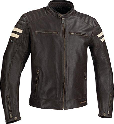 Segura Motorradjacken STRIPE Braun/Beige, Braun/Beige, L