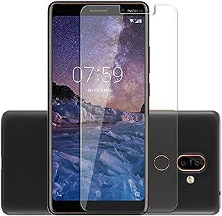 Nokia 7 Plus [2018] Premium kvalitet äkta härdat glas explosion och okrossbart skärmskydd skydd skydd (Nokia 7 Plus 2018, ...