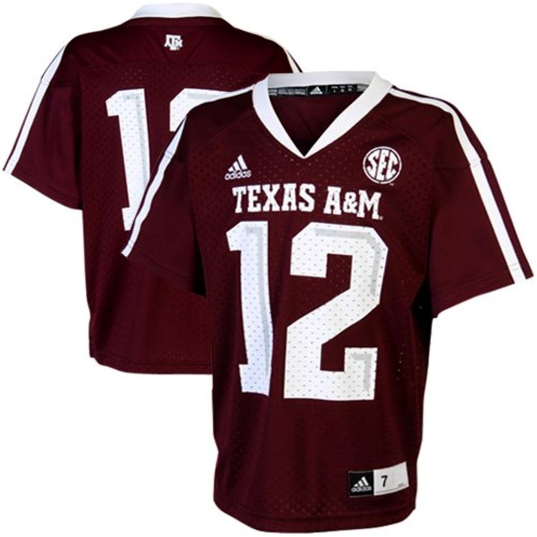 NCAA Adidas Texas A & M Aggies   12 Vorschule Replica Jersey – Maroon (7) B00AB916BW  Trendy