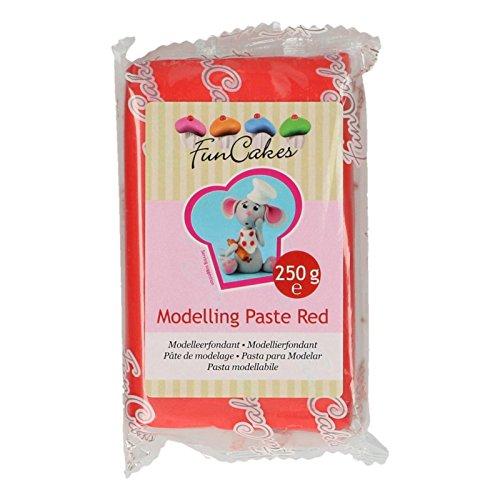 FunCakes Modelling Paste Rot -250g-