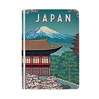 パスポートカバー スキミング防止 本革 パスポートケース 出張 旅行 カードパッケージ 旅行便利グッズ 多機能 旅券ケース 日本旅行ポスター 男女兼用