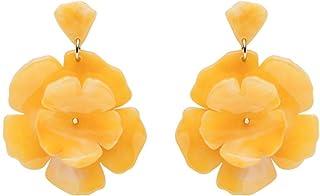 Fossil - Orecchini da donna in ottone giallo agrumi JA7036710