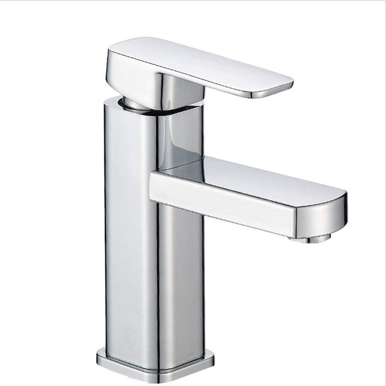 Basin Mixer Tap Washbasin All Copper Washbasin Faucet Single Hole Basin Faucet.
