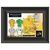 Am Ball Com GmbH Tour de France 2017 – Camiseta de colección Rosa enmarcada