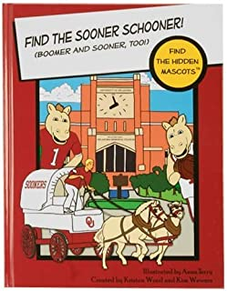 Oklahoma Sooners Find the Hidden Mascots Hardback Book () by Kristen Wood and Kim Wewers (2008) Hardcover