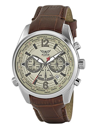 Aviator f-series world-time cronografo