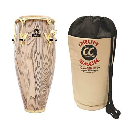 Latin Percussion LP Galaxy Giovanni Series 12-1/2' Wood Conga - Includes ChromaCast Drum Sack