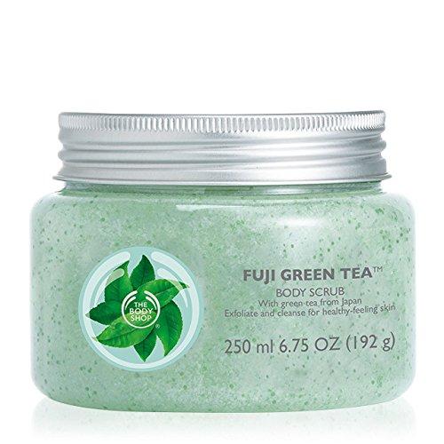 Die Body Shop Peeling Körperpeeling *** 250ml *** Fuji Grüner Tee / The Body Shop Fuji Green Tea Body Scrub-Body Exfoliator ***250ml***