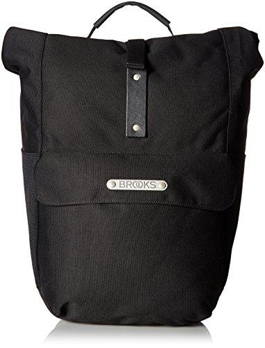 Brooks England Suffolk Rear Travel Packtaschen, Schwarz/Schwarz