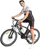 Ancheer Bicicletta Elettrica Bici da Montagna con Batteria al Litio da 26 Pollici 36V 250W 21...