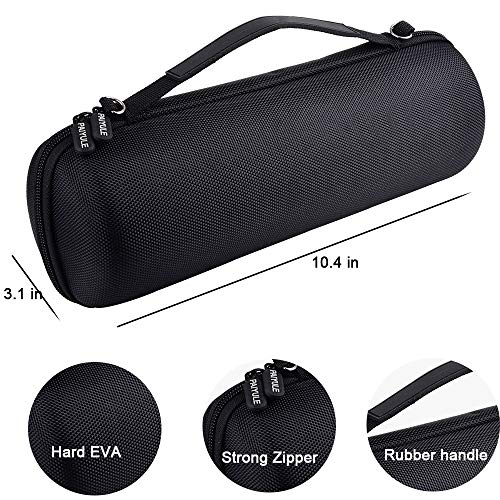Speaker Case Compatible with Ultimate Ears Boom 3 Portable Waterproof Bluetooth Speakers.Storage Holder Fits for USB Cable and Charger.(Box Only)