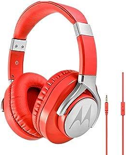 Fone de Ouvido Pulse Max com Microfone, Motorola, Sh006, Vermelho, Único