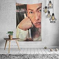 2021 佐藤健/さとうたける タペストリー ファッションの絶妙な印刷リビングルームの入り口寝室の背景壁の装飾カスタマイズされた壁掛け布 (152*102cm)