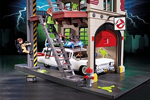 Quartier Général Ghostbusters Caserne de Pompier Playmobil - 9219 - 4