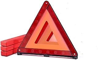 MysBiker Triple Warning Triangle Emergency Warning,Triangle Reflector Safety Triangle Kit,1Pack