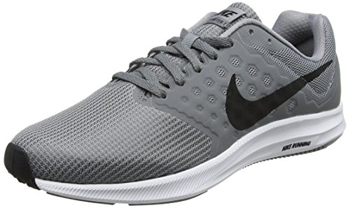 Nike Downshifter 7, Men's Running, Grey (Stealth/black-cool Grey-white), 8.5 UK