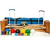 Wood Mallets Premium Croquet Set