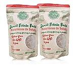 Slimdown360 Pasta de patata dulce - macarrones Codos - Paleo - Sin Gluten - Vegano - 2 pack (2 x 8,8 oz)