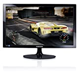 Samsung S24D330 Moniteur 24 Full HD, 1920 x 1080, 1 Ms, 60 Hz, Game Mode, D-Sub, cble HDMI Inclus, Noir