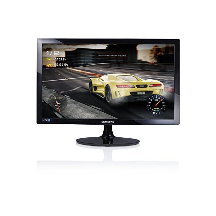 Samsung S24D330Moniteur 24Full HD, 1920x 1080, 1Ms, 60Hz, Game Mode, D-Sub, cble HDMI Inclus, Noir