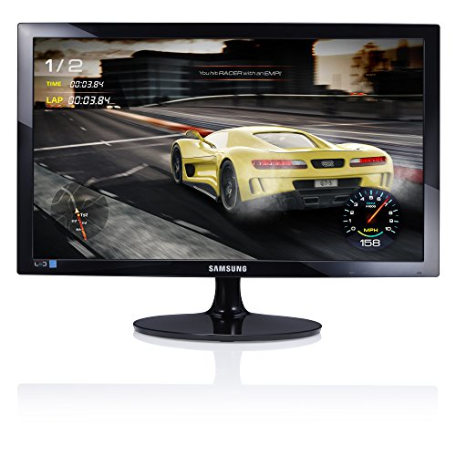 Samsung S24D330 Monitor 24 Full HD, 1920 x 1080, 1 Ms, 60 Hz, game mode, D-SUB, HDMI-kabel inbegrepen, zwart