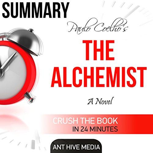 Summary: Paulo Coelho's 'The Alchemist' audiobook cover art
