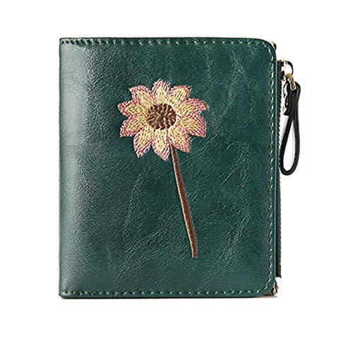dames kleine tweevoudige portemonnee schattig mini rits kaart muntportemonnee korte eenvoudige kleine verse student gesp ck munt portemonnee