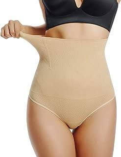 High Waist Thong Shapewear for Women Tummy Control Underwear Slimming Body Shaper Girdle Panty