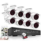 ANRAN 5MP CCTV PoE Kit Cámaras de Vigilancia Exterior 8CH...